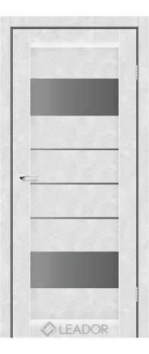 ARONA (бетон білий, скло сірий графіт)