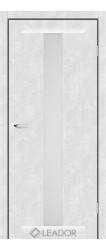 BARI (бетон білий, скло сатин білий)