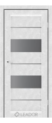CANNELI (бетон білий, скло сірий графіт)