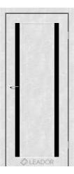 CATANIA (бетон білий, чорне скло)