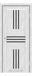 RONA (бетон білий, чорне скло)
