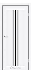 VERONA (білий матовий, чорне скло)